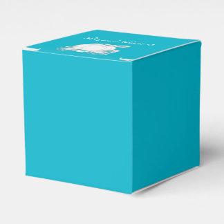 CUAESQUIERA cajas de plata del favor del carro de Cajas Para Regalos