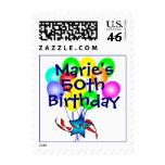 Cuaesquiera sellos de los globos del cumpleaños de