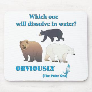 Cuál disolverá en química polar del agua alfombrillas de ratón