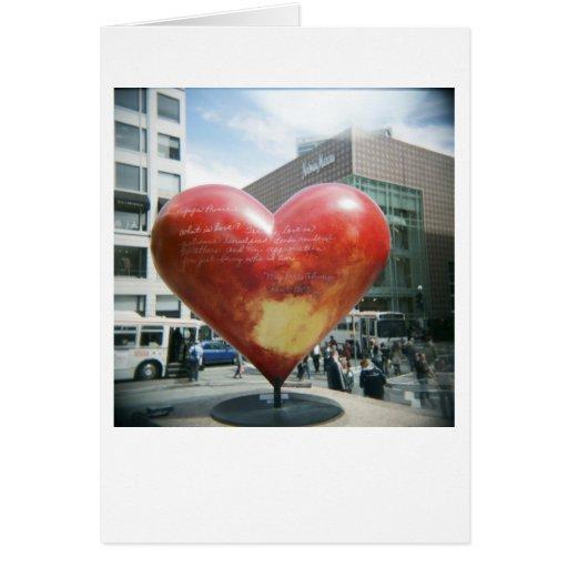 Cuál es amor… tarjeta