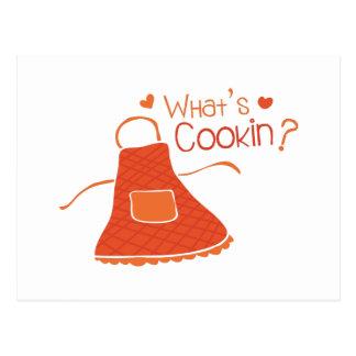 Cuál es Cookin Tarjetas Postales