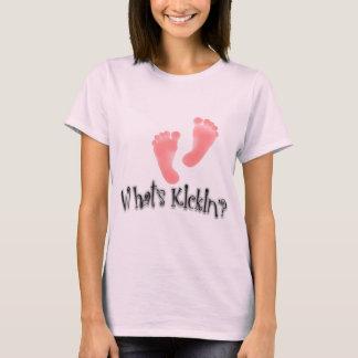 Cuál es diseños de maternidad del Kickin'? Playera