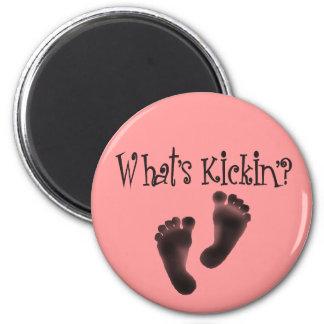 Cuál es diseños del Kickin'? Iman De Nevera
