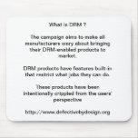 ¿Cuál es DRM? Alfombrillas De Ratón