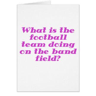 Cuál es el equipo de fútbol que hace en el campo d tarjeta de felicitación