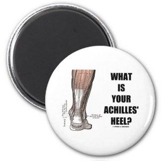 ¿Cuál es el su talón de Aquiles? (Anatomía del tal Imán Redondo 5 Cm