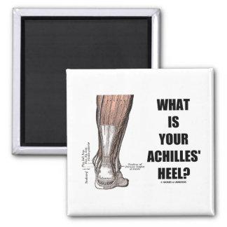 ¿Cuál es el su talón de Aquiles? (Anatomía del tal Imán Cuadrado