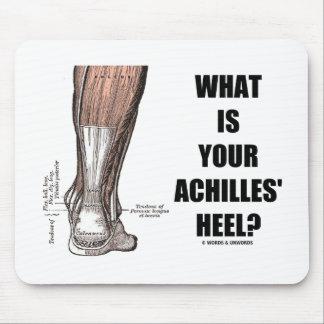 ¿Cuál es el su talón de Aquiles? (Anatomía del tal Alfombrillas De Raton
