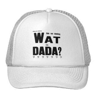 CUÁL ES gorra del camionero de DADA (Theo van