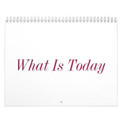 Cuál es hoy calendarios