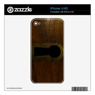 Cuál es interior su una cerradura y un misterio calcomanías para iPhone 4S