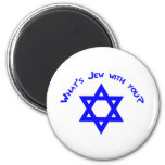 ¿Cuál es judío con usted? Imán Para Frigorífico