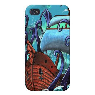 ¿Cuál es Kraken? Caso de Iphone4/4s iPhone 4 Carcasa