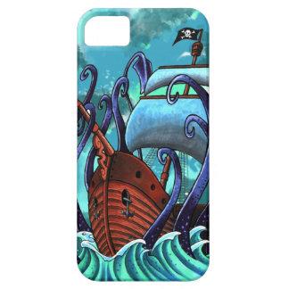 ¿Cuál es Kraken? Caso de Iphone 5 Funda Para iPhone SE/5/5s