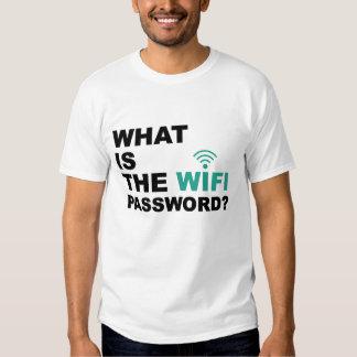 Cuál es la contraseña de WIFI divertida Remeras