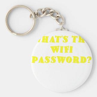 Cuál es la contraseña de Wifi Llavero
