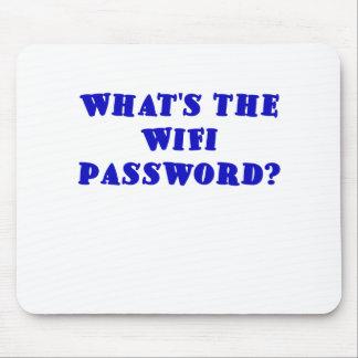Cuál es la contraseña de Wifi Mousepads
