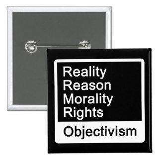 ¿Cuál es Objectivism? Botón