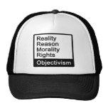 ¿Cuál es Objectivism? Casquillo Gorros Bordados