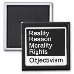 ¿Cuál es Objectivism? imán