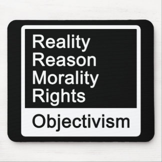 ¿Cuál es Objectivism? mousepad Tapete De Ratón