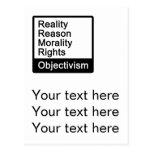 ¿Cuál es Objectivism? postal