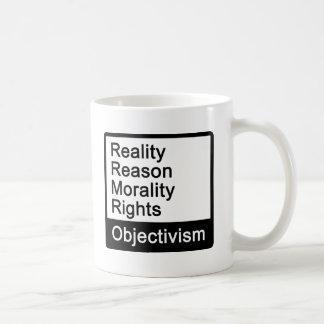 ¿Cuál es Objectivism? Taza