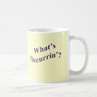 Cuál es Occurrin'? Taza Clásica