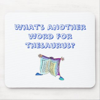 ¿Cuál es otra palabra para el tesauro? Alfombrilla De Ratones