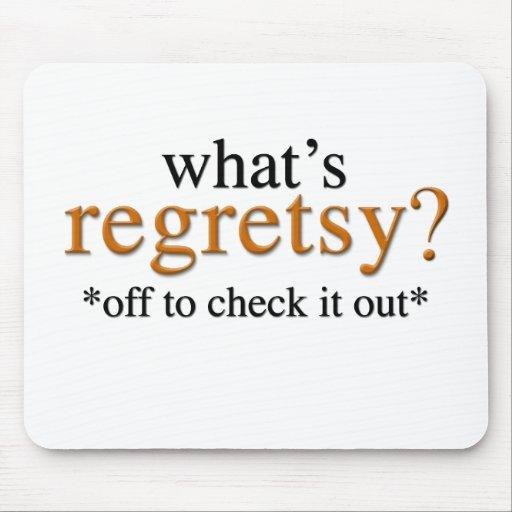 Cuál es Regretsy Tapete De Ratón