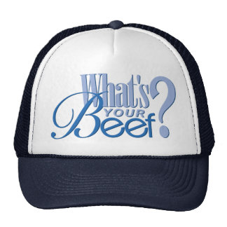 Cuál es su casquillo de la carne de vaca gorras de camionero