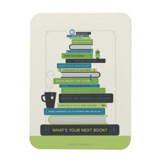 ¿Cuál es su libro siguiente? Imanes Rectangulares