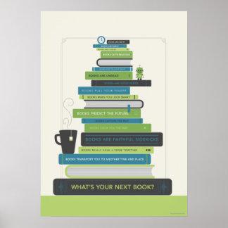 ¿Cuál es su libro siguiente? Impresiones