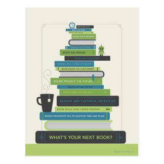 ¿Cuál es su libro siguiente? Tarjeta Postal