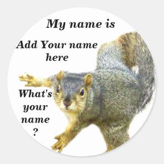 Cuál es su pegatina de Name_