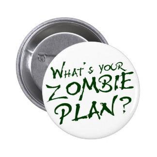 ¿Cuál es su plan del zombi? Pins
