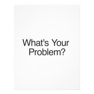 ¿Cuál es su problema? .ai Tarjeton