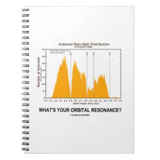 ¿Cuál es su resonancia orbital? (Humor de la Spiral Notebooks