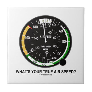 ¿Cuál es su velocidad de aire verdadera? Indicador Azulejos Ceramicos