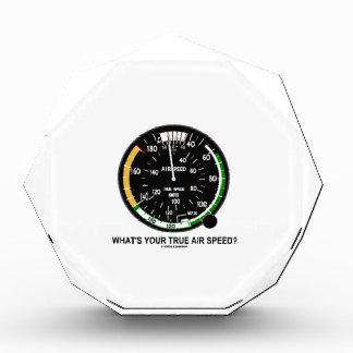 ¿Cuál es su velocidad de aire verdadera? Indicador