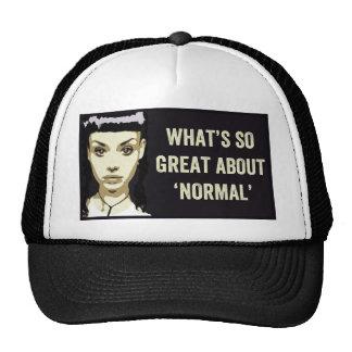 Cuál es tan grande sobre 'normal gorras