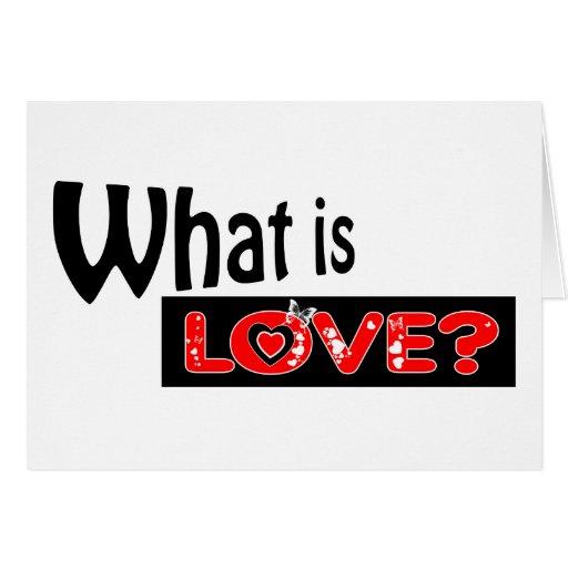 Cuál es tarjetas de felicitación del amor