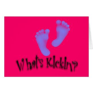 Cuál es tarjetas de la maternidad del Kickin'?