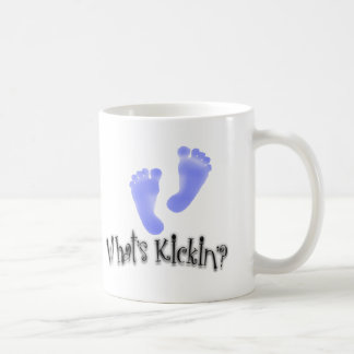 Cuál es taza de la invitación del bebé del Kickin'