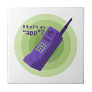 ¿Cuál es un App? Tejas