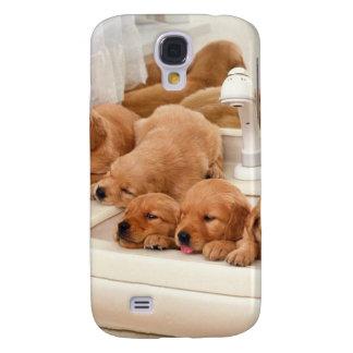 ¿Cuál es un baño? Los perritos lindos descubren Ba Funda Para Galaxy S4