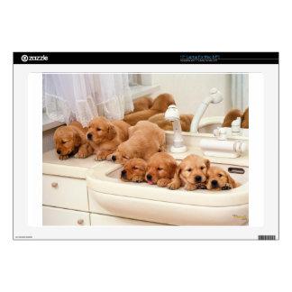 ¿Cuál es un baño? Los perritos lindos descubren Ba Portátil 43,2cm Skin