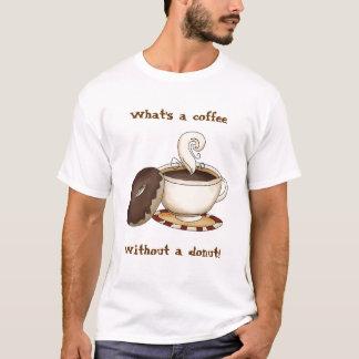 ¡Cuál es un café sin un buñuelo! Playera