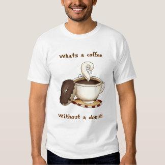 ¡Cuál es un café sin un buñuelo! Poleras
