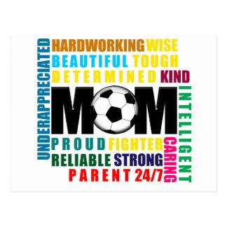 Cuál es un fútbol Mom png Postales